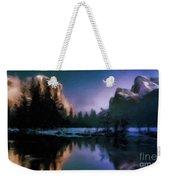 Winters Lake Weekender Tote Bag