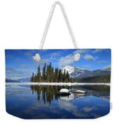 Winters Mirror Weekender Tote Bag
