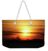 Winters Morning Weekender Tote Bag