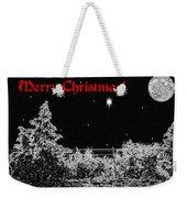 Winter's Night Weekender Tote Bag