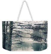 Winter's Reach Weekender Tote Bag