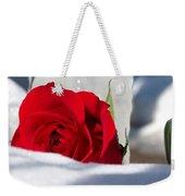 Winters Rose Weekender Tote Bag