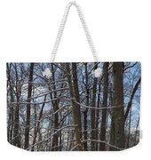Winter's Touch Weekender Tote Bag