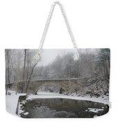 Wintertime In The Wissahickon Valley Weekender Tote Bag