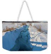 Wintery Creek Weekender Tote Bag
