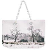 Wintery Morning Weekender Tote Bag