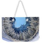 Wintery Weekender Tote Bag