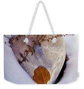 Wintery Still Life Weekender Tote Bag