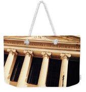 Wintrust Financial Corporation Weekender Tote Bag