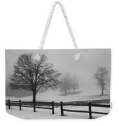 Wintry Morning Weekender Tote Bag