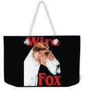 Wire Fox Terrier Weekender Tote Bag