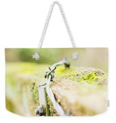 Wire On The Fence Weekender Tote Bag