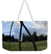 Wire Rope Loggers Noose Weekender Tote Bag