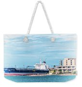 Wisby Atlantic - Incoming Ship Weekender Tote Bag
