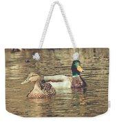 Wisconsin Ducks Weekender Tote Bag