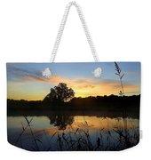 Wisconsin Sunrise Weekender Tote Bag