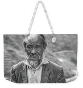 Wisdom - A Year Later Bw Weekender Tote Bag