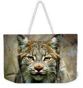 Wise Bob Cat Weekender Tote Bag