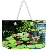 Wishes Among The Water Lilies Weekender Tote Bag