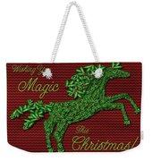 Wishing You Magic This Christmas Weekender Tote Bag