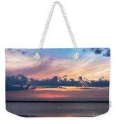 Wispy Cloud Bay Weekender Tote Bag
