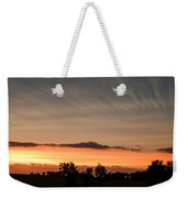 Wispy Clouds At Sunset Weekender Tote Bag