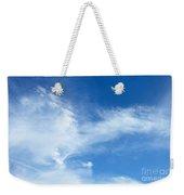 Wispy Clouds Weekender Tote Bag