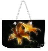 Wispy Lilies Weekender Tote Bag