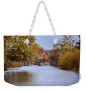 Wissahickon Autumn Weekender Tote Bag