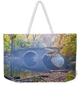 Wissahickon Creek At Bells Mill Rd. Weekender Tote Bag by Bill Cannon