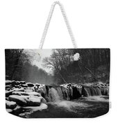 Wissahickon Snow Weekender Tote Bag