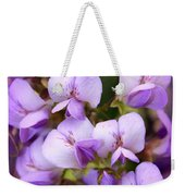 Wisteria Blossoms Weekender Tote Bag