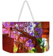 Wisteria Canopy In Bisbee Arizona Weekender Tote Bag
