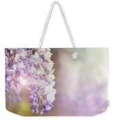Wisteria Flowers In Sunlight Weekender Tote Bag