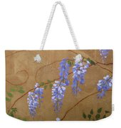 Wisteria Weekender Tote Bag by Leah  Tomaino