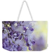 Wisteria's Soft Floral Whispers Weekender Tote Bag