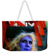 Witch On The Run Weekender Tote Bag