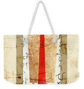 With A Touch Of Red Weekender Tote Bag
