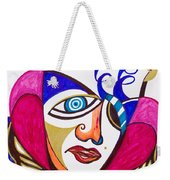 With Deep Thoughts And Tears - II Weekender Tote Bag
