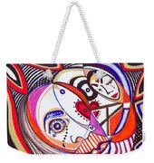 With Deep Thoughts And Tears - Iv Weekender Tote Bag