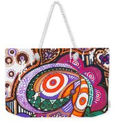 With Deep Thoughts And Tears - Vi Weekender Tote Bag