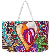 With Deep Thoughts And Tears - Viii Weekender Tote Bag