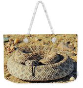 With Forked Tongue Weekender Tote Bag
