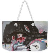 With Little Escape From Life Weekender Tote Bag