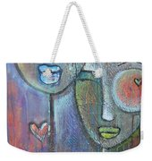 With Love On Our Wings Weekender Tote Bag