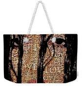 With Love.. Weekender Tote Bag