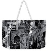 With One Cat In The Yard Weekender Tote Bag