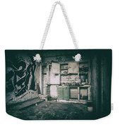 With Time It All Falls Apart Weekender Tote Bag