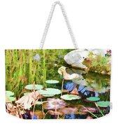 Withered Lotus In The Pond 2 Weekender Tote Bag