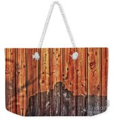 Within A Wooden Fence Weekender Tote Bag